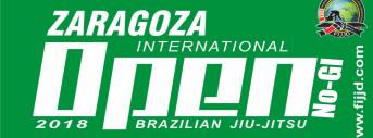 Zaragoza International Open BJJ - NoGi 2018