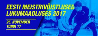 Eesti meistrivõistlused lukumaadluses 2017