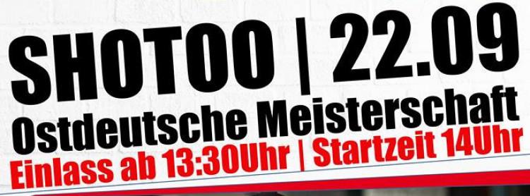 1. Ostdeutsche Shooto Meisterschaften 2018