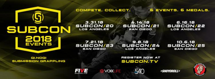 SUBCON 24 - LOS ANGELES, CA 09.08.18