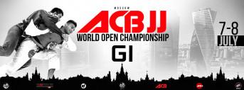 ACB JJ WORLD OPEN CHAMPIONSHIP GI 2018