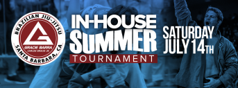 Gracie Barra In-House Summer Tournament