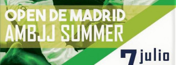 Open Madrid AMBJJ Summer 2018 - NoGi