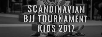 Scandinavian Kids BJJ tournament 2017