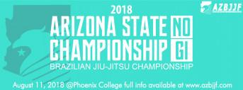 AZBJJF - 2018 No Gi AZ State Championship