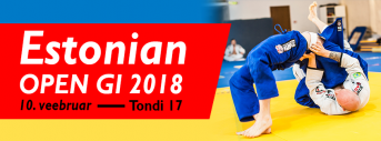 Estonian Open Gi 2018