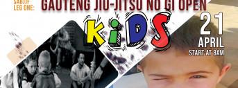 LEG ONE GAUTENG JIU-JITSU NO GI OPEN - KIDS