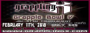 Grapple Bowl V Jiu Jitsu Championship