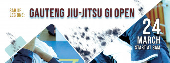 LEG ONE GAUTENG JIU-JITSU GI OPEN - ADULTS