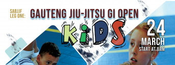 LEG ONE GAUTENG JIU-JITSU GI OPEN - KIDS
