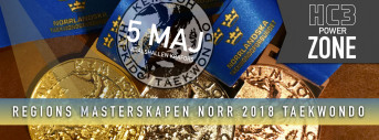Regions Mästerskapen TKD 2018