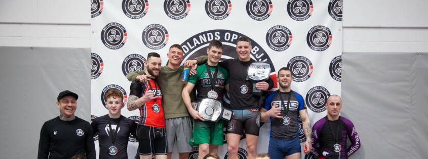 Results, Midlands Open BJJ Championship 8 No-Gi Sub Only