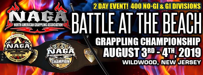 NAGA Battle at the Beach Grappling Championship - Smoothcomp