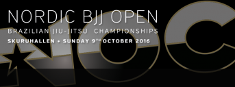 Nordic BJJ Open 2016-Fall edition