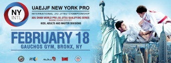 New York International Pro Jiu-Jitsu Championship (Open To All Nationalities) - Gi