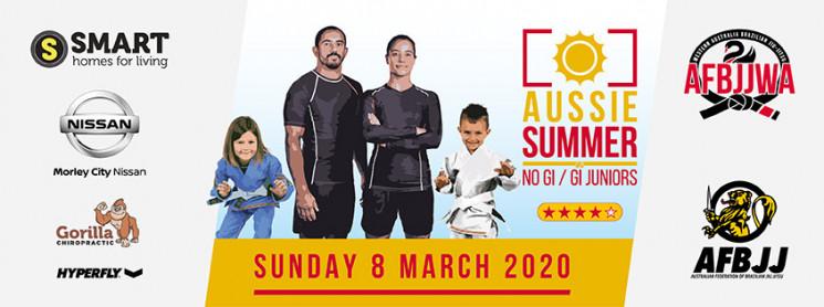 Aussie Summer Gi Juniors / No Gi Adults