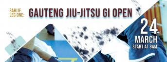 LEG ONE GAUTENG JIU-JITSU GI OPEN - ADULTS