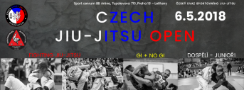 CZECH JIU-JITSU OPEN 2018