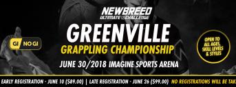 NEWBREED Greenville Grappling Championship