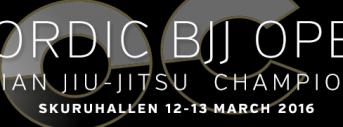 Nordic BJJ Open 2016
