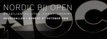 Nordic BJJ Open 2016-Fall edition