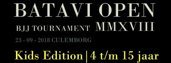 BATAVI OPEN - Kids Edition 2018