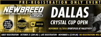 NEWBREED Dallas Crystal Cup Open