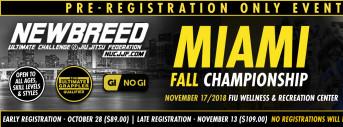 NEWBREED Miami Fall Championship