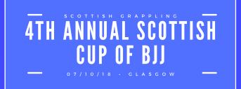 4th Annual Scottish Cup Of Brazilian JiuJitsu
