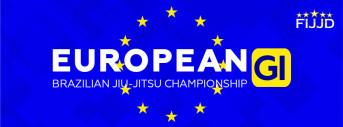 EUROPEAN OPEN BJJ GI - FIJJD 2018