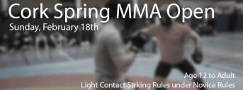 Cork Open MMA Spring 2018