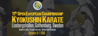 11th Open EC Kyokushin Karate