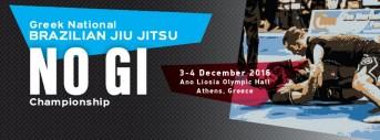 Greece National No-Gi Tournament 2016