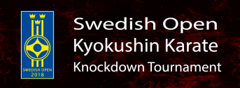 The 7th Swedish Open Championship Kyokushin Knockdown Karate