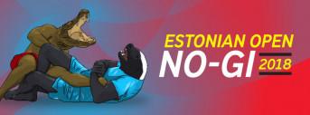 Estonian Open No-Gi 2018