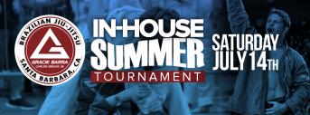 Gracie Barra In-House Summer Tournament